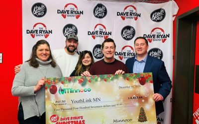 Minnoco Retailers raised $4,400 for KDWB's Dave Ryan's Christmas Wish